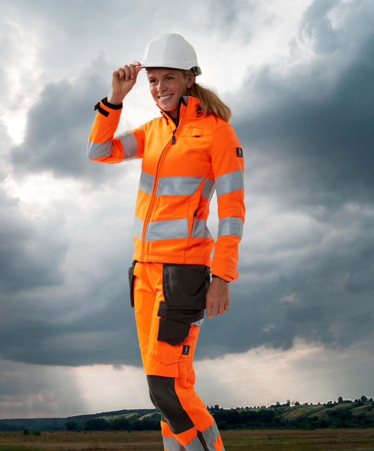Jakke til kvinder  - Fluorescerende orange - MASCOT® SAFE SUPREME