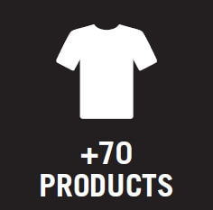 Icon - +70 products