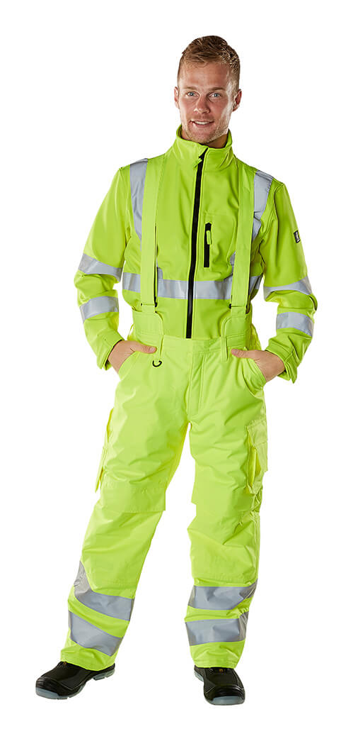 Overall & Trøjer - MASCOT® SAFE ARCTIC - Fluorescerende gul - Model