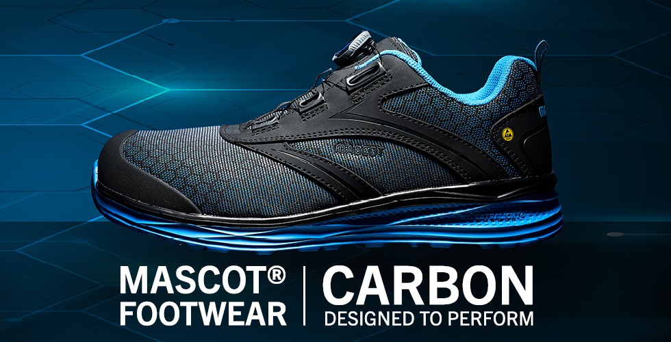 2020 - MASCOT® FOOTWEAR CARBON | Designed to Perform-Sikkerhedssko-BOA® Fit System, F0251-909