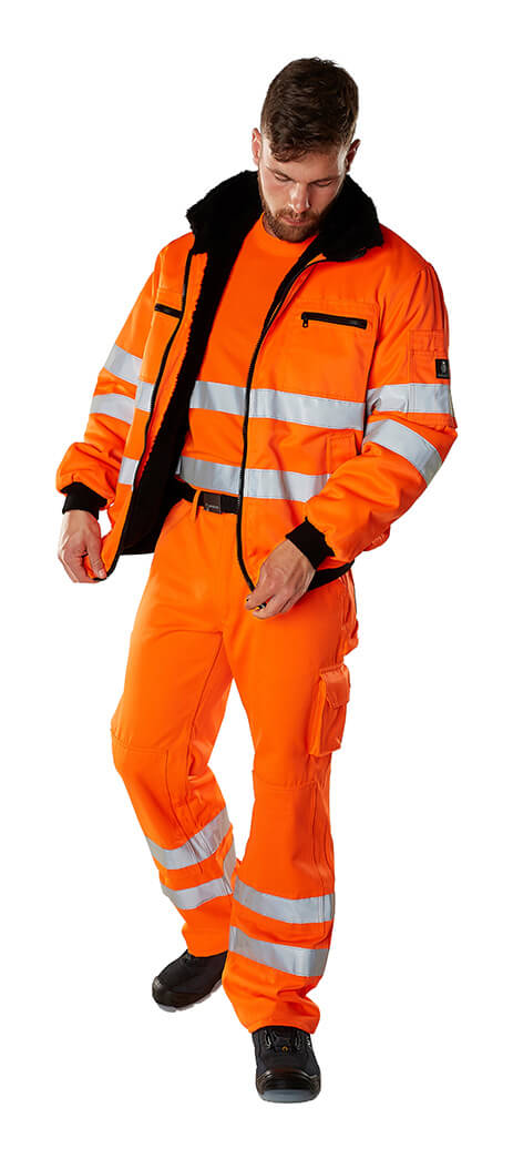 MASCOT® SAFE ARCTIC Arbejdstøj - Fluorescerende orange - Model
