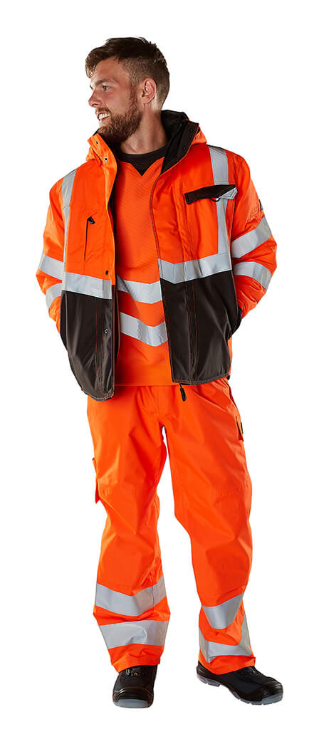 Sikkerhedsbeklædning - Fluorescerende orange - MASCOT® SAFE SUPREME - Model
