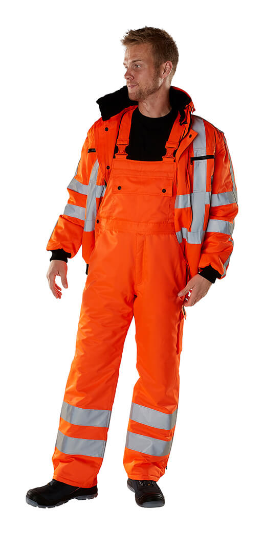 MASCOT® SAFE ARCTIC Vinterjakke & Overall - Fluorescerende orange - Model