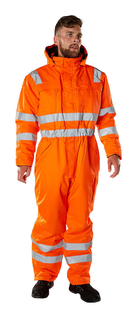Model - Vinterkedeldragt Fluorescerende orange - MASCOT® SAFE ARCTIC