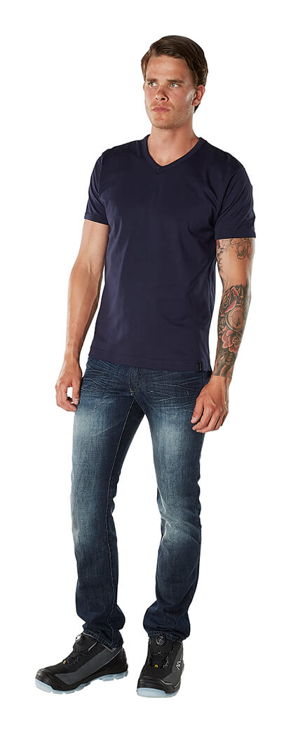 Mand - T-shirt & Jeans