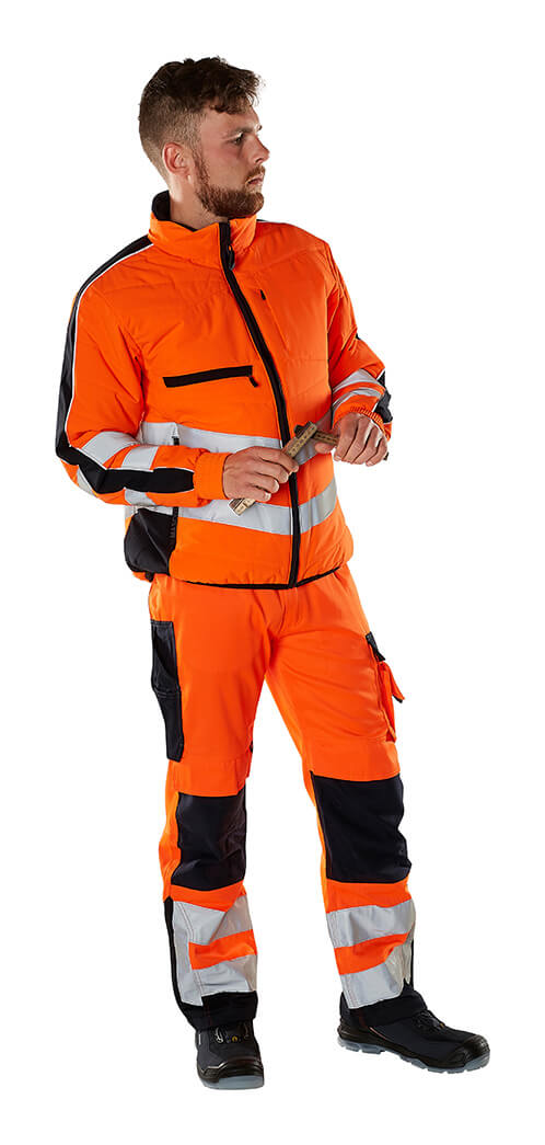Fluorescerende orange - Sikkerhedstøj - MASCOT® SAFE SUPREME - Model