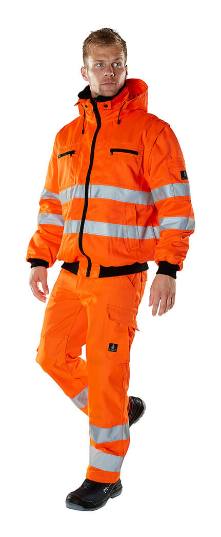 Vintertøj - MASCOT® SAFE ARCTIC - Fluorescerende orange - Model
