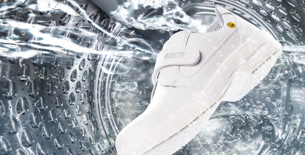 MASCOT® FOOTWEAR CLEAR - Sikkerhedssko, washing maschine