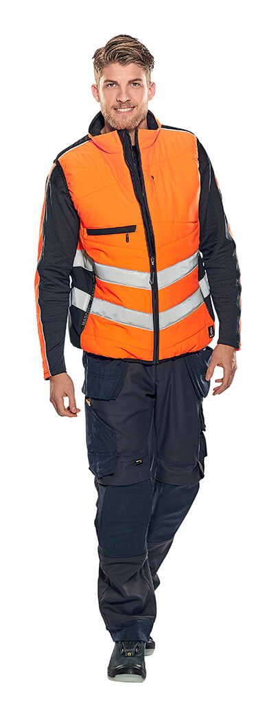 Model - Hi-vis tøj Fluorescerende orange - MASCOT® SAFE SUPREME