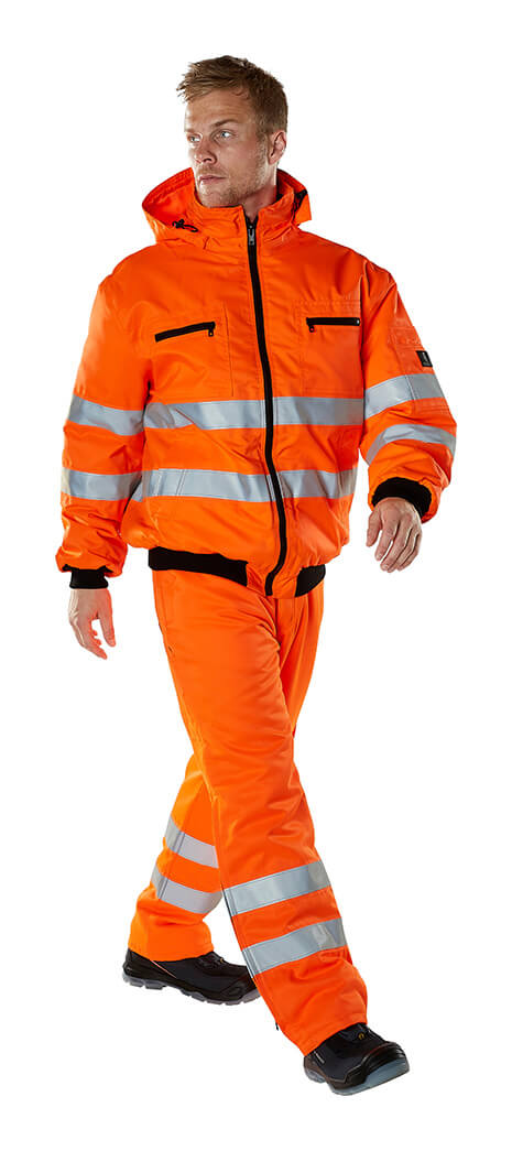 MASCOT® SAFE ARCTIC - Model - Fluorescerende orange - Jakke & Bukser