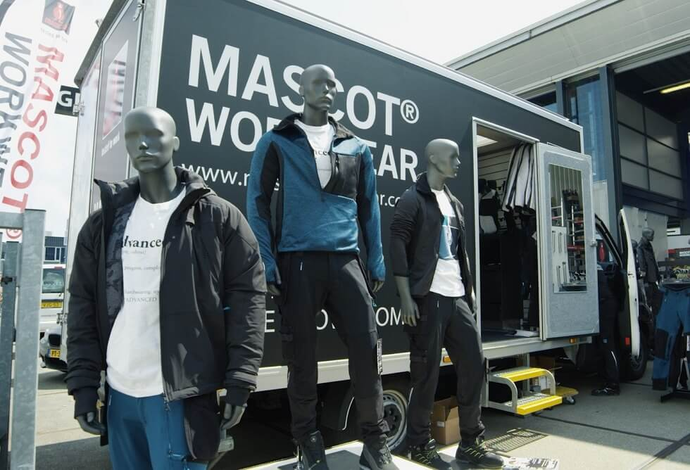 MASCOT® Mobile Showroom - Bil
